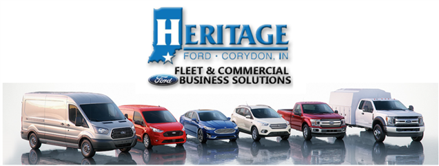 Heritage Ford Inc. in Corydon, IN - banner image