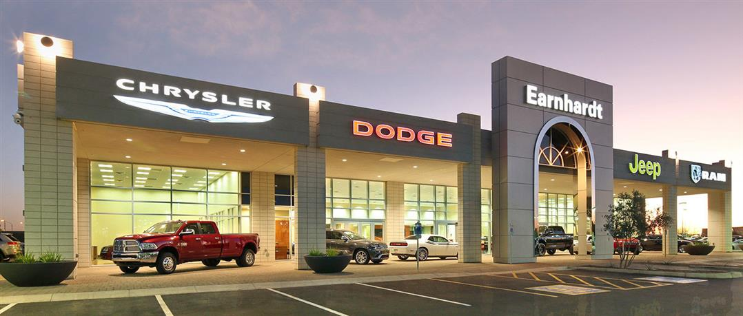 Earnhardt Chrysler Jeep Dodge Ram in Gilbert, AZ - banner image