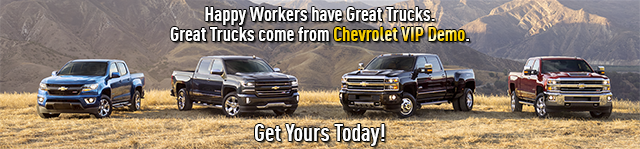 WTS VIP Demo Chevrolet in Chico, CA - banner image