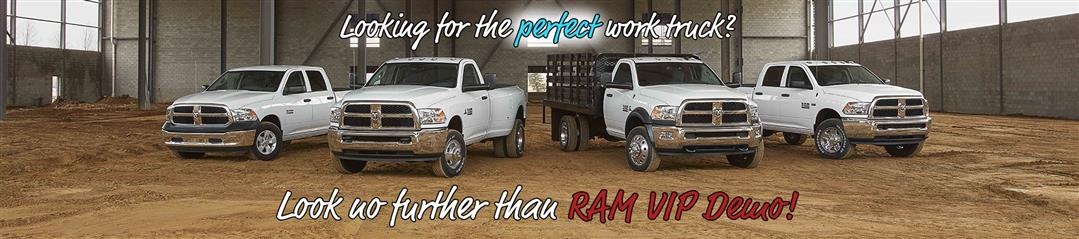 WTS VIP Demo RAM in Chico, CA - banner image